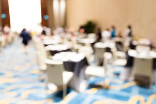 Restaurant blur backgroundの写真素材 [FYI00757522]