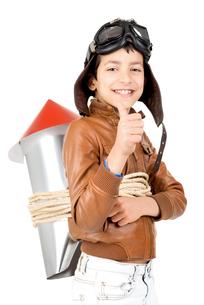 Rocket boyの写真素材 [FYI00757736]