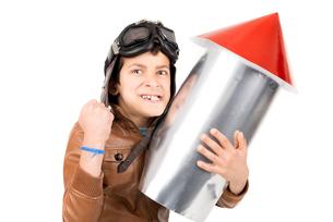 Rocket boyの写真素材 [FYI00757746]