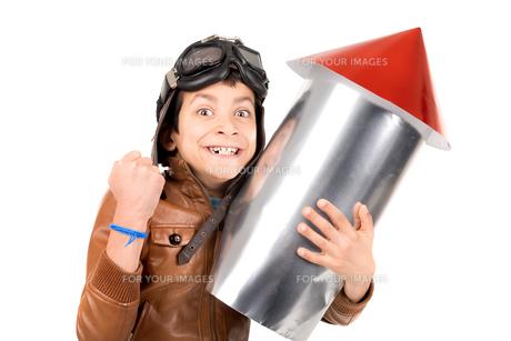 Rocket boyの写真素材 [FYI00757756]