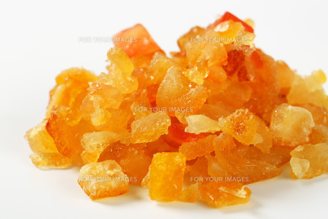 Candied citrus peelの写真素材 [FYI00757929]