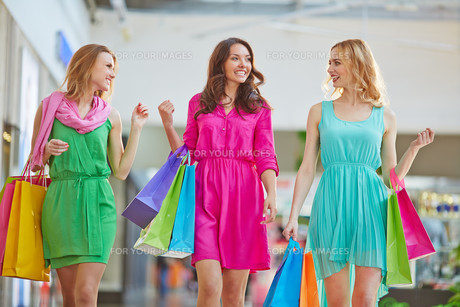 Shopping communicationの写真素材 [FYI00757980]