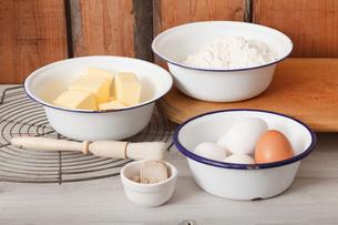 ingredients for bakingの素材 [FYI00758013]