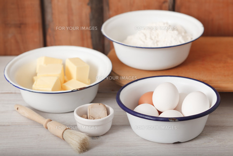 ingredients for bakingの素材 [FYI00758023]