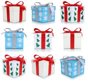 christmas gifts christmas collageの写真素材 [FYI00758081]