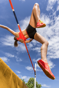 high jumpの写真素材 [FYI00758168]