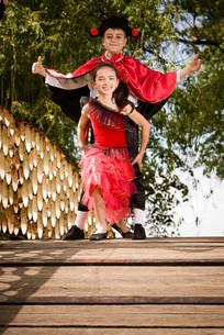 Let's dance!の写真素材 [FYI00758170]