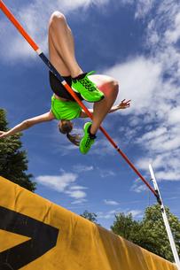 high jumpの写真素材 [FYI00758178]