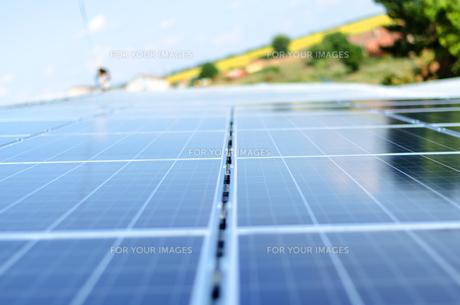 Photovoltaic panelの写真素材 [FYI00758234]