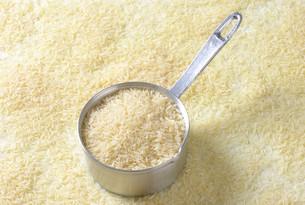 Uncooked Jasmine riceの写真素材 [FYI00758516]