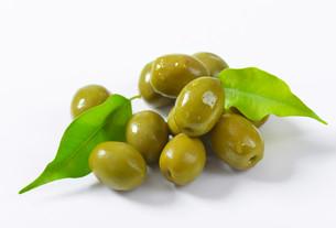 Green olivesの素材 [FYI00758586]