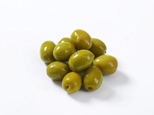 Spanish green olivesの素材 [FYI00758593]