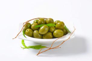 Fresh Green Olivesの素材 [FYI00758600]