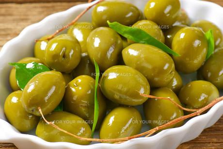 Fresh Green Olivesの素材 [FYI00758602]