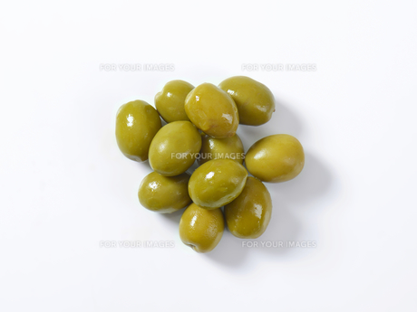 Green olivesの素材 [FYI00758605]