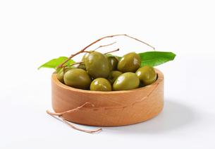 Fresh Green Olivesの素材 [FYI00758607]