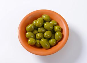 Fresh Green Olivesの素材 [FYI00758611]