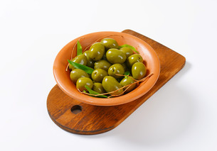 Fresh Green Olivesの素材 [FYI00758614]
