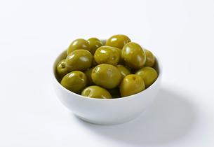 Brine-cured green olivesの素材 [FYI00758615]