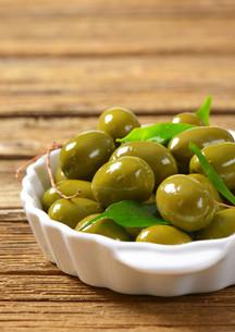 Fresh Green Olivesの素材 [FYI00758617]