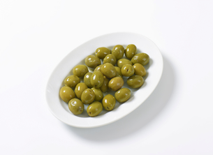 Fresh Green Olivesの素材 [FYI00758621]