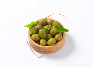 Fresh Green Olivesの素材 [FYI00758622]