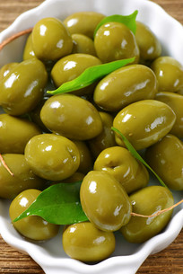 Fresh Green Olivesの素材 [FYI00758625]