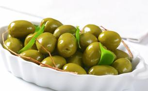 Fresh Green Olivesの素材 [FYI00758627]