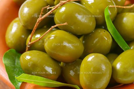 Fresh Green Olivesの素材 [FYI00758629]