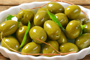 Fresh Green Olivesの素材 [FYI00758631]