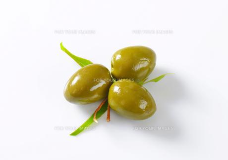 Fresh Green Olivesの素材 [FYI00758636]