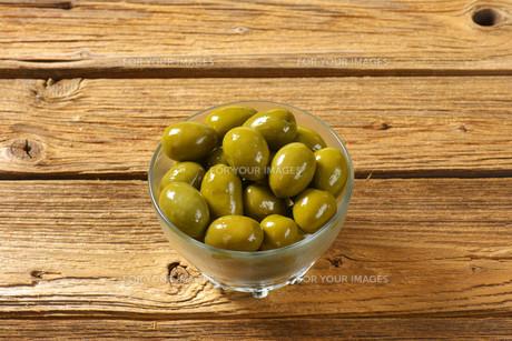 Fresh Green Olivesの素材 [FYI00758638]