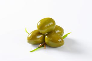 Fresh Green Olivesの素材 [FYI00758640]