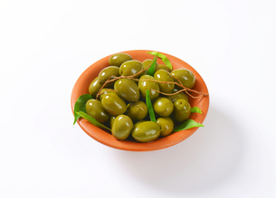 Fresh Green Olivesの素材 [FYI00758643]