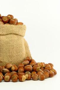 Hazelnut in Bagの素材 [FYI00758899]