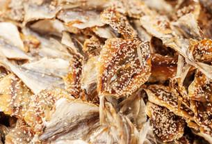 Dried fishの写真素材 [FYI00758982]