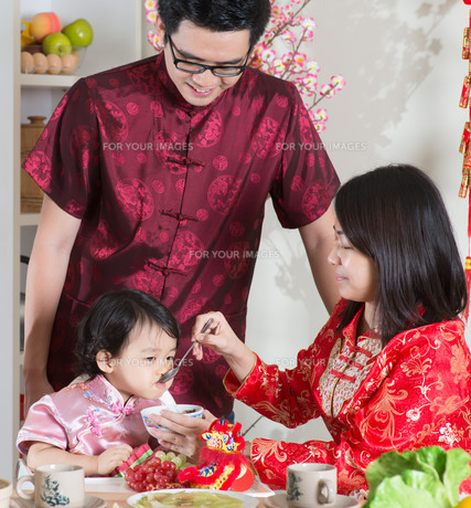Celebrate Chinese New Yearの写真素材 [FYI00759001]