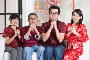 Chinese New Year greetingの写真素材 [FYI00759008]