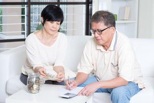 Pension, retiree, saving conceptの写真素材 [FYI00759028]