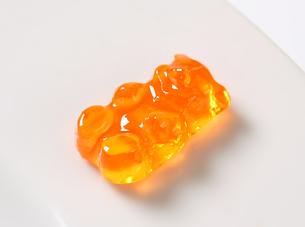 Orange Gummy bearの写真素材 [FYI00759218]