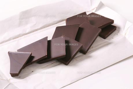 Dark chocolateの写真素材 [FYI00759256]