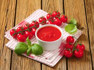 Tomato pureeの写真素材 [FYI00759303]