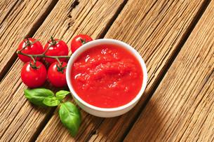 Tomato pureeの写真素材 [FYI00759308]