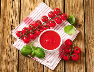 Tomato pureeの写真素材 [FYI00759314]