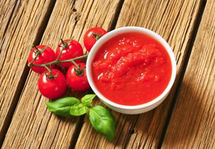 Tomato pureeの写真素材 [FYI00759327]