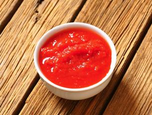 Tomato pureeの写真素材 [FYI00759332]