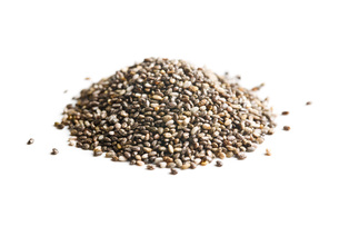 chia seedsの写真素材 [FYI00759574]