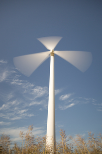 Wind Power Station Spinningの素材 [FYI00759601]