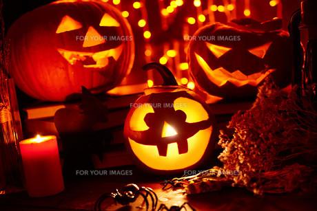Halloween atmosphereの素材 [FYI00759758]