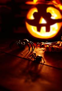 Halloween spidersの素材 [FYI00759783]